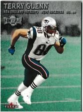 2000 Fleer Metal Terry Glenn Football Trading Card #49 New England Patriots
