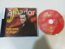 FRAN AMADOR ROJO COMO FUEGO POP ROCK ESPAÑOL TECHNO RUMBA - CD