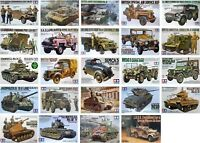 Tamiya 1/35 Military Vehicle New Plastic Model Kit 1 35