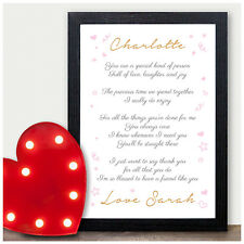 personalised gifts for best friend keepsake poem christmas xmas birthday present - What Should I Get My Best Friend For Christmas