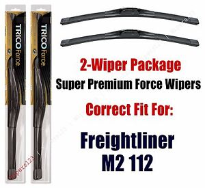 Wipers 2-Pack Hi-Performance fits 2003+ Freightliner M2 112 - 25220x2