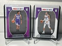 2020-21 NBA HOOPS 🔥🔥TYRESE HALIBURTON🔥 BASE ROOKIE RC & WOODARD PURPLE SP RC