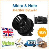 For Nissan Micra C+C MK3 & Note E11 Valeo Interior Heater Blower New