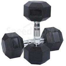 10KG Pair Body Building Gym Hexagonal Barbell Cast Iron Dumbbells Sports Indoors