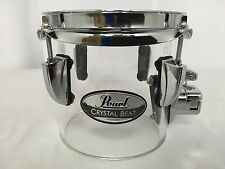 "Pearl Crystal Beat 6"" Diameter X 5.5"" Single Head Concert Tom/#730/Ultra Clear"