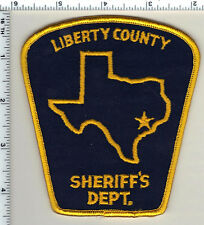 Liberty County Sheriff (Texas) Shoulder Patch from 1990