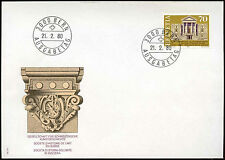 Switzerland 1980 Swiss Art History FDC First Day Cover #C20102