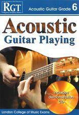 RGT ACOUSTIC GUITAR PLAYING Grade 6 Book/CD LCM*