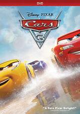 Cars 3 (DVD, New, Slipcover, 2017, Widescreen, Region 1)