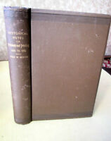 HISTORICAL NOTES On PRINTERS & PRINTING 1420-1886,John W. Moore,1st Ed