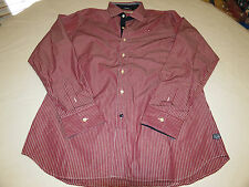 Mens Marville Yachting Sailing L reg fit long button up shirt casual EUC@