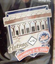 2009 CitiField 1st Houston Astros vs NY Mets pin ltd