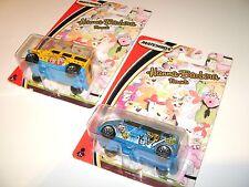 Matchbox Hannah-Barbera Flintstones Hummer and Jetsons VW Van near MOC Rare New