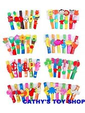 18 Multi Coloured Funky Fun Rainbow Wooden Clothes Pegs Party Goodie Bag Gifts