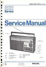 Philips Original Service Manual für 90 AL 795