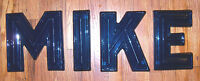 """10"""" Vintage 1950-60's Era Drive In  Movie Theater Marquee Sign Letters 3D - BLUE"""