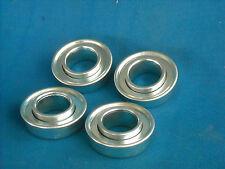 4 new wheel bearings used on older riding mowers 3/4 ID X 1-3/8 od