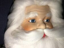 "18"" Vintage Woodworking Toy Shop Santa Claus Porcelain Doll by Ivonne Heather"