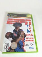 ESPN NBA 2K5 Microsoft XBOX CIB Complete