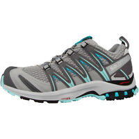 Salomon XA PRO 3D Women Damen Trail Laufschuhe Outdoor Schuhe quarry blue 393291