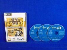 *PC EMPIRE EARTH II 2 Gold Edition +Supremacy Expansion No Manual Windows 7 8 10