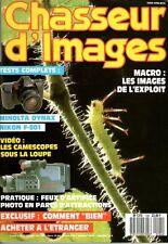 Chasseur d'Images 104 Macro Minolta Dynax Nikon F-801 Flash Nissin Starblitz
