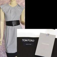 TOM FORD New One Size Authentic Designer Womens Leather Velvet Belt black