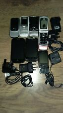 Mobile Phones Job Lot of 7 Htc Lg Motorola Samsung See Description