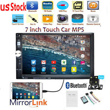 """7""""Double DIN Car Stereo Radio MP5 Player Touch Screen BT Head Unit+Camera"""