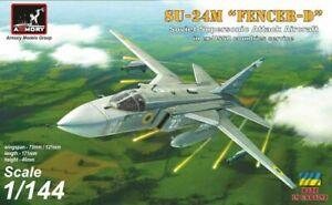 """1/144 Su-24M Sukhoj """"Fencer"""" in ex-USSR countries, ARMORY 14702"""