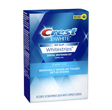 CREST 3D WHITESTRIPS CLASSIC VIVID 20 STRIPS 10 exp 12/2019 New Sealed