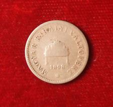 Münze Coin Ungarn Hungary Zwei 2 Filler 1898 Bronze (G8)