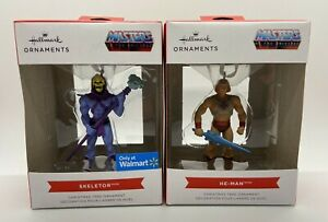 HALLMARK MASTERS OF THE UNIVERSE SKELETOR AND HE-MAN CHRISTMAS ORNAMENTS 2021
