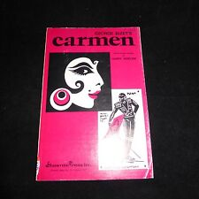 George BIZET Carmen Opera Choral Concert Version by Harry Simeone Sheet Music