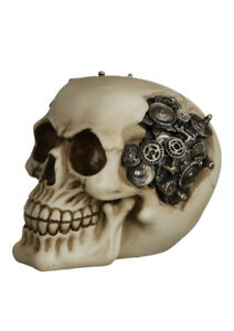 Steampunk Style Skull with Cogs and Gears