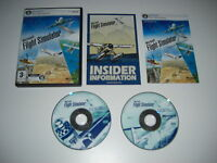 Microsoft FLIGHT SIMULATOR X Pc DVD Rom Base Sim Game FSX FS 10 X FAST POST