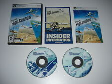 Microsoft FLIGHT SIMULATOR X Pc DVD Rom Base Game FSX FS 10 - FAST POST