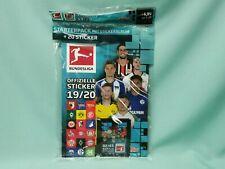 Topps Bundesliga Sticker 2019/2020 Starterpack Album + 4 Tüten 19/20
