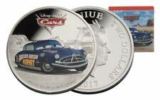 Niue -2017 - 1 OZ  Silver Proof Coin- Disney Pixar Cars - Doc Hudson