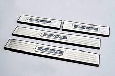 Mazda CX-5 12-17 LED illuminated Flushing Door Sill Protector Panel Scuff Plate