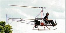 A-B Helicopters A/W 95 Ultralight Helicopter Mahogany Dried Wood Model Large New