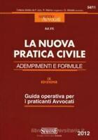 Nuova pratica civile, adempimenti e formule, editore simone cod:54/11