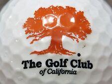 (1) The Golf Club Of California Golf Course Logo Golf Ball