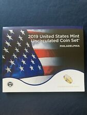 2019 P Uncirculated Coin Set 10 Coins United States Mint PHILADELPHIA w/ COA