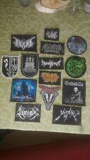 Patches Konvolut Black Death Metal