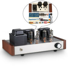 HiFi Class AB Tube Power Amplifier DIY Kit Push-pull Stereo Audio Amp 12W+12W