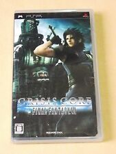 PSP Crisis Core Final Fantasy VII FF7 (2007, PlayStation Portable) Japan 5-10day