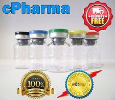 100 Glass Vials 10 Ml Sterile and Unsealed Flip Top Lid Vial Bottle |short