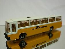 EFSI TOYS  MERCEDES  BUS TOURINGCAR - LEES RAILHOBBY -  WERBE - GOOD CONDITION