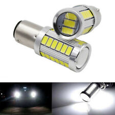 2pcs T20 7443 5630 5730 33SMD LED Car Brake Tail DRL Stop Bulb Lamp Light E&F